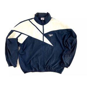 Vintage Reebok Windbreaker Colorblock Jacket